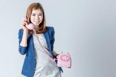 Biznesowa azjatykcia śliczna kobieta Zdjęcie Stock