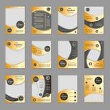 Biznesowa broszurka lub pokrywa Fotografia Stock
