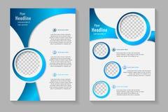 Biznesowa broszurka lub pokrywa Fotografia Royalty Free