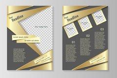 Biznesowa broszurka lub pokrywa Obraz Stock