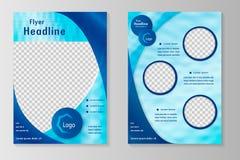 Biznesowa broszurka lub pokrywa Obrazy Stock