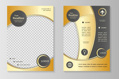 Biznesowa broszurka lub pokrywa Zdjęcie Royalty Free