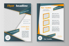 Biznesowa broszurka lub pokrywa Zdjęcia Royalty Free