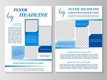 Biznesowa broszurka lub pokrywa Obraz Royalty Free