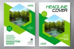 Biznesowa broszurka Ulotka Projekt Ulotek a4 szablon Okładkowy okrzyki niezadowolenia ilustracji