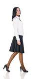 biznesowa brunetki kobieta Fotografia Stock