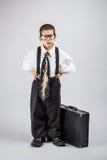 Biznesowa chłopiec Zdjęcia Stock