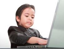 Biznesowa chłopiec obraz royalty free
