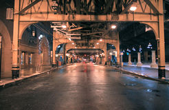biznesowa Chicago okręgu ulica Obraz Stock
