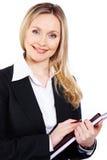 biznesowa dama zdjęcia stock