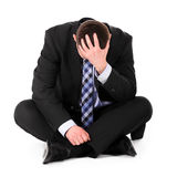 biznesowa depresja Zdjęcia Stock