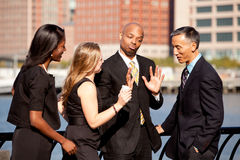 biznesowa dyskusja Fotografia Royalty Free