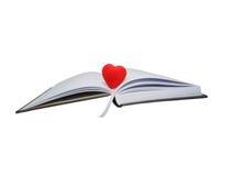 biznesowa dzienniczka serca czerwień zdjęcie royalty free
