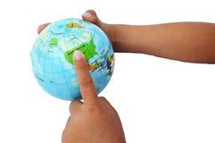 Biznesowa ekspansja Północna Ameryka obrazy royalty free