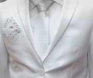 Biznesowa formalna odzież z krawatem i kostiumem Zdjęcia Stock