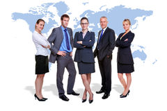 biznesowa globalna drużyna Zdjęcie Royalty Free