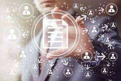 Biznesowa guzik kartoteki ikony znaka sieć Obrazy Stock
