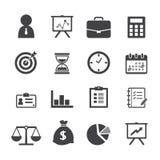 Biznesowa ikona Fotografia Stock