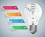 Biznesowa Infographics origami stylu wektoru ilustracja Obraz Royalty Free