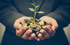 Biznesowa inwestycja z csr praktyką zdjęcia royalty free