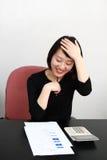 biznesowa kobieta Zdjęcia Stock
