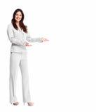 Biznesowa kobieta. Zdjęcie Stock