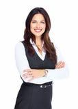Biznesowa kobieta. Zdjęcie Royalty Free
