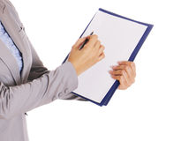 Biznesowa kobieta - Akcyjny wizerunek obraz stock