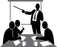 biznesowa konferencja ilustracja wektor