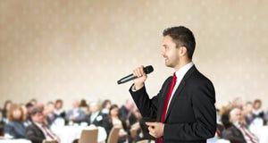 Biznesowa konferencja obraz royalty free