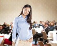 Biznesowa konferencja Zdjęcia Royalty Free