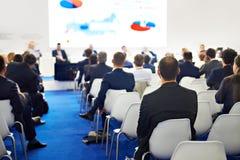 Biznesowa konferencja i goście zdjęcie stock