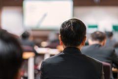 Biznesowa konferencja i prezentacja w sala konferencyjnej obrazy stock