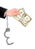 biznesowa korupcja zdjęcie stock
