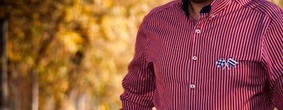 Biznesowa koszula Obrazy Royalty Free