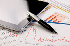 Biznesowa księgowość Obraz Stock