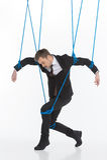 Biznesowa marionetka. Fotografia Royalty Free
