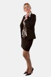 biznesowa myśląca kobieta Obraz Royalty Free