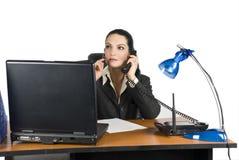 biznesowa myśląca kobieta Fotografia Stock