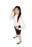 biznesowa nowożytna kobieta zdjęcia stock