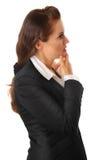 biznesowa nowożytna rozważna kobieta zdjęcia royalty free