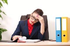 biznesowa nowożytna biurowa kobieta Zdjęcie Stock