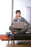 biznesowa nowożytna biurowa kobieta Zdjęcia Stock