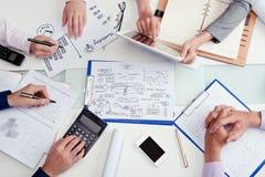 Biznesowa odprawa Fotografia Stock
