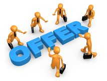 biznesowa oferta Fotografia Stock