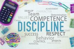 Biznesowa ogłoszenia towarzyskiego lub pracy zespołowej dyscyplina obraz royalty free