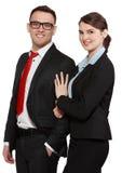 Biznesowa para Fotografia Royalty Free