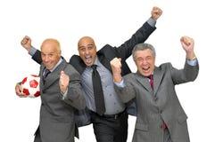 biznesowa piłka nożna Zdjęcia Stock