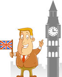 Biznesowa podróż UK Zdjęcie Stock