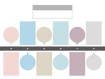 Biznesowa pojęcie linia czasu Infograph szablon ilustracji